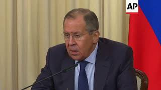Russia FM on US election