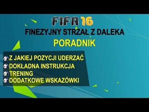 FIFA 16 - Poradnik #2 Finezyjny Strzał Z Daleka | INSTRUKCJA | TUTORIAL | NAUKA GRY