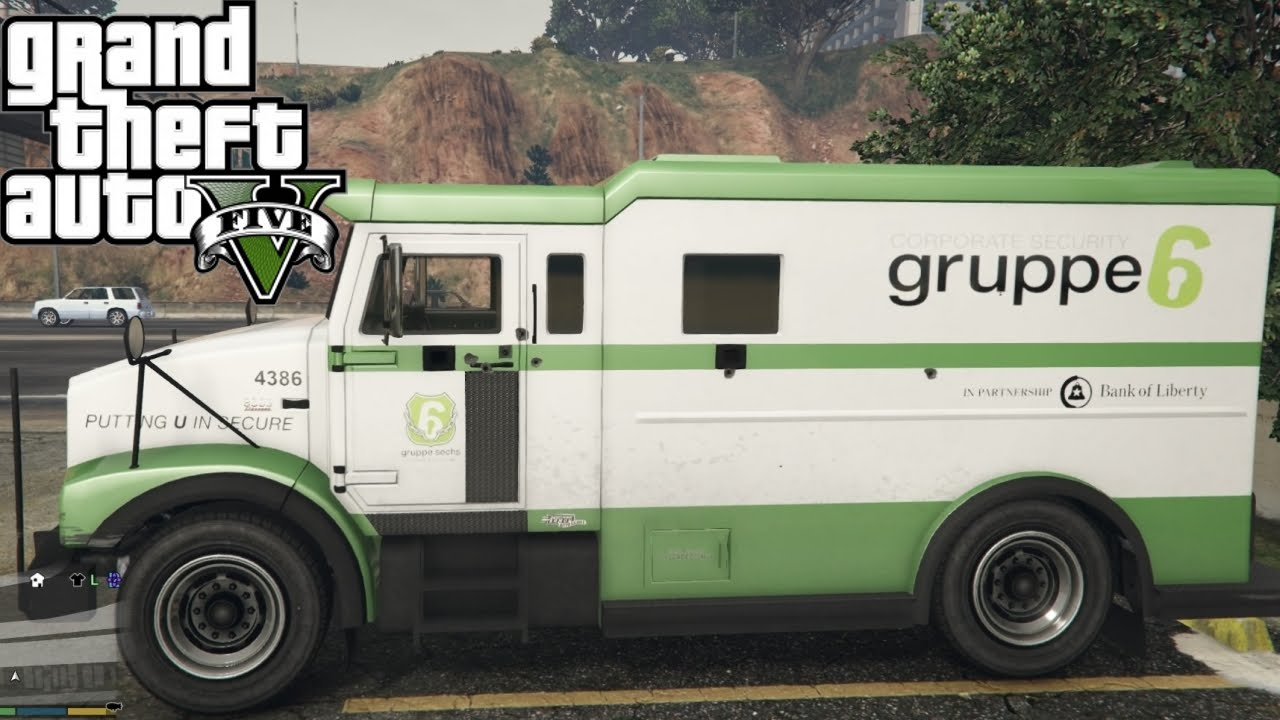Gta V Next Gen Ps4 Brute Stockade Armored Truck Test