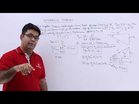 Kaplan Turbine Problem Example