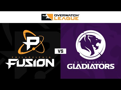 Philadelphia Fusion vs Los Angeles Gladiators | Week 25 | NA