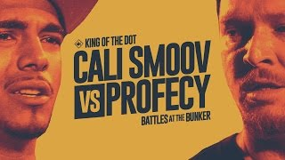 KOTD - Rap Battle - Cali Smoov vs Profecy | #BATB1