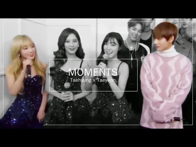 [TAEHYUNG X TAEYEON] - VYEON MOMENTS