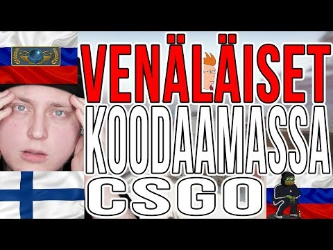 VENÄLÄISET KOODAAMASSA! - CS:GO SUOMI HAUSKAT HETKET (Counter Strike: Global Offensive Competitive) thumbnail