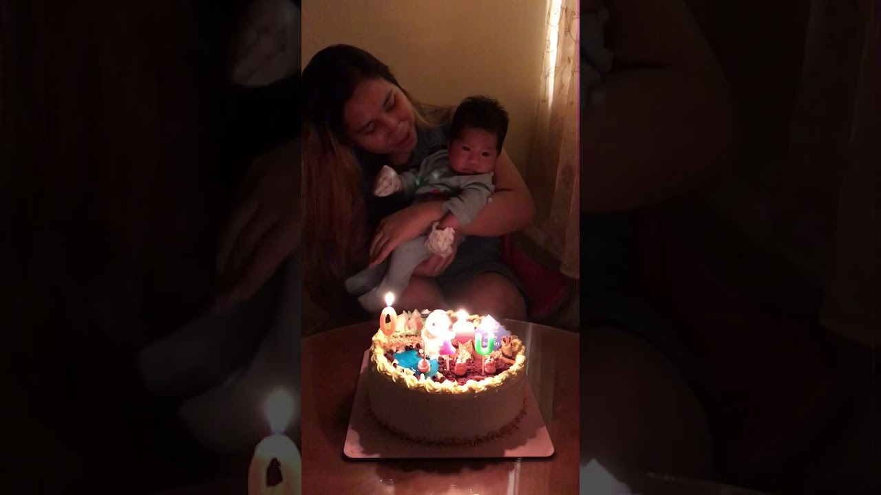 Our Baby S 1 Month Old Celebration 🎂🎈 Youtube
