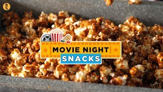Gambar cover Movie Night Snack Recipes for your Weekend by Food Fusion