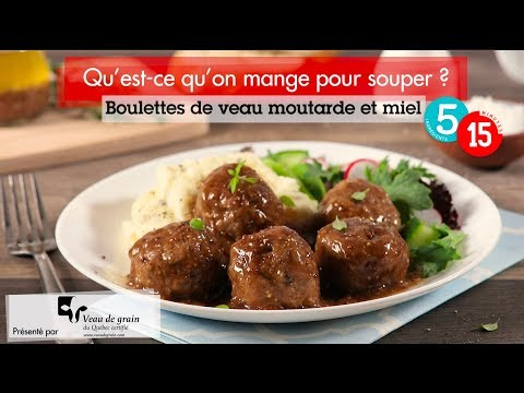 boulettes-de-veau-moutarde-et-miel