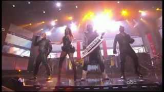 Black Eyed Peas - Meet Me Halfway/Boom Boom Pow ( Live AMA