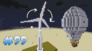 Движущиеся Постройки в Один Клик! - Instant Massive Structures Мод Майнкрафт