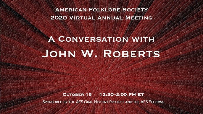 Promoting Folklore Online American Folklore Society 2020 Virtual Annual Meeting Youtube