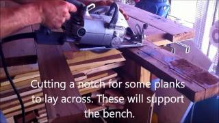 How To Build Bench Potters With Reclaimed Redwood