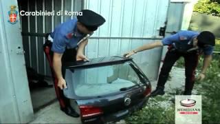 Smontavano e riciclavano pezzi auto lusso rubate in officina clandestina in villa vicino Roma, 2 arr