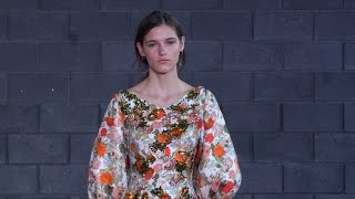 Emilia Wickstead SS16 at London Fashion Week