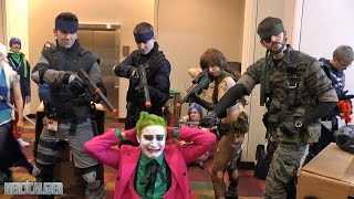Solid Snakes, Big Boss and Quiet! Metal Gear Solid Cosplay at Gen Con 2014