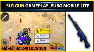 🧐SLR GUN GAMEPLAY-HOW TO FIND SLR GUN IN PUBG MOBILE LITE 🔥 PUBG MOBILE LITE SLR GUN GAMEPLAY 🔥