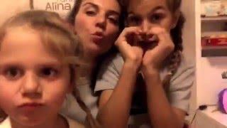 Анна Седокова и ее дочки поздравляют с Днем святого Валентина: видео Viva.ua