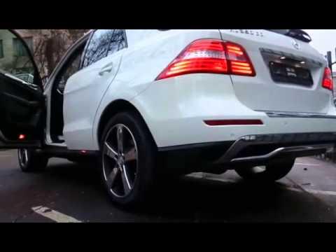 Купить белый Mercedes M 2013 года Москва