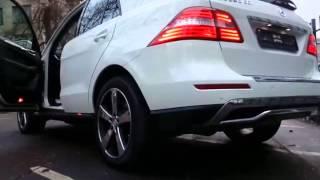 Купить белый Mercedes M 2013 года Москва(, 2015-12-26T12:08:46.000Z)