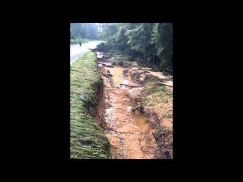100 Acre Pond Dam Failure
