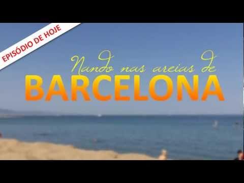 Episódio de hoje: Nando nas areias de Barcelona