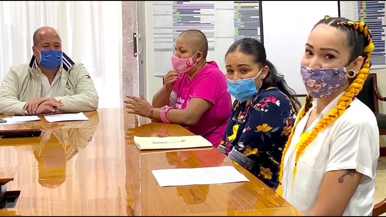 Diálogo con mamás de niños con cáncer