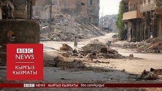 """""""Сапар"""": Сириядагы соңку кырдаал, экстремисттерди кандай тагдыр күтөт? - BBC Kyrgyz"""