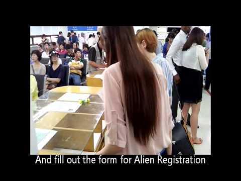 Alien Card Registration Tutorial - Mokdong Immigration Office