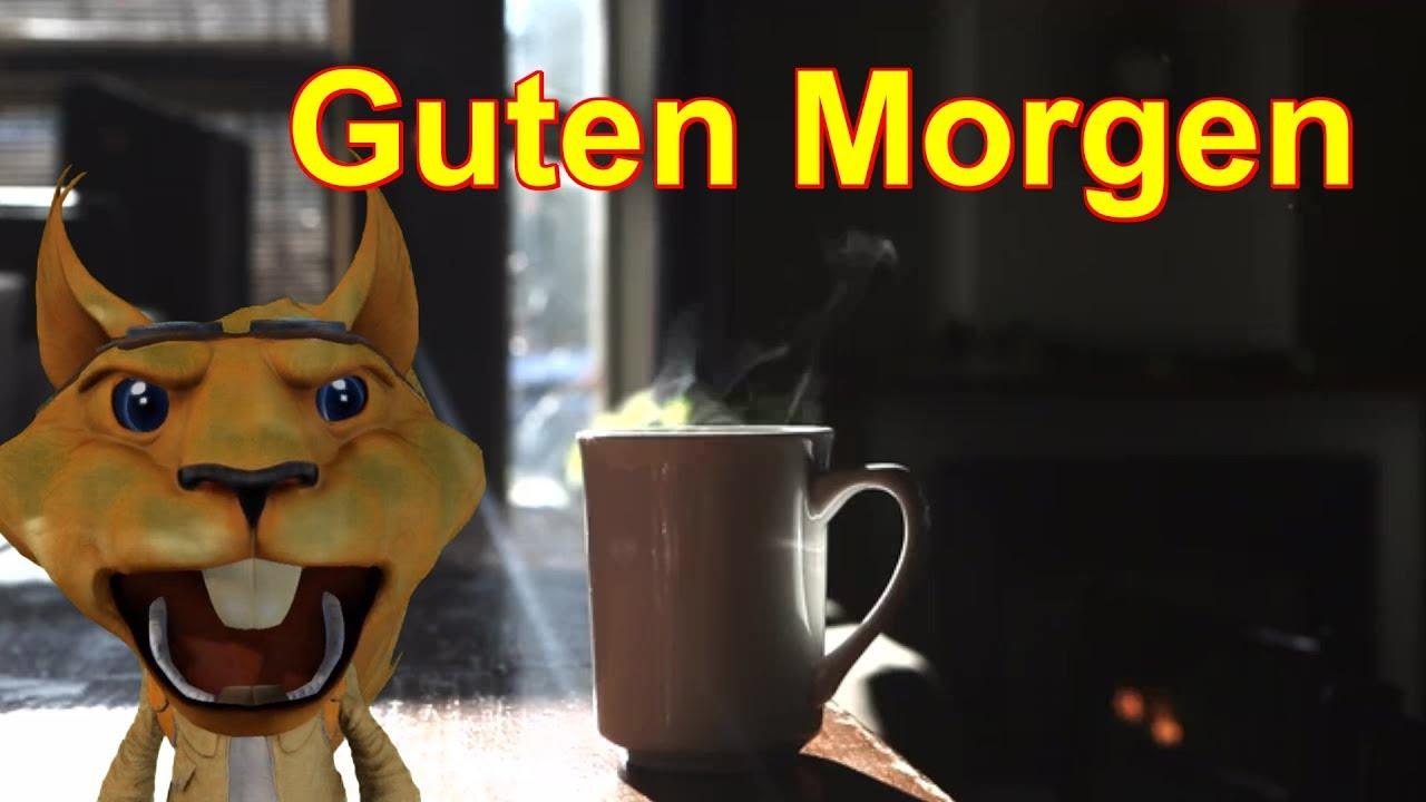 Video Gruß Für Dich Guten Morgen Und Schönen Tag Mit Kaffee Vom Schlumpf Kanal Facerig Youtube