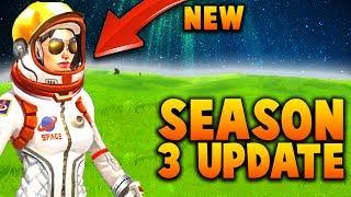Season 3 UPDATE & NEW Skins (Fortnite Battle Royale)
