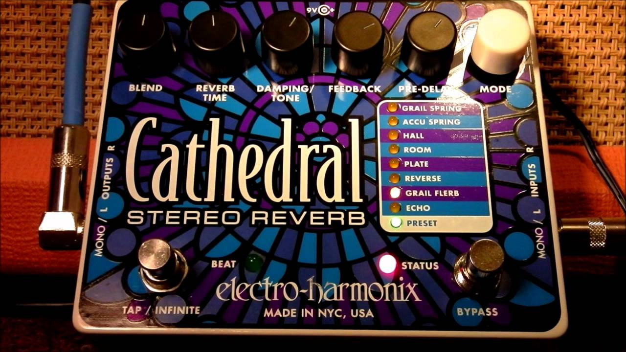 Electro Harmonix Reverb Cathedral Not Lossing Wiring Diagram Electroharmonix Soul Preacher Circuit Schematic Design Ehx Stereo Demo Youtube Rh Com Price Pedal