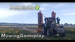 Farming Simulator 2017 Mowing Gameplay