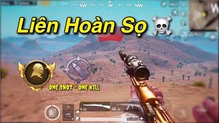 PUBG Mobile | Liên Hoàn HeadShot || Lấy Danh Hiệu One Shot - One Kill √