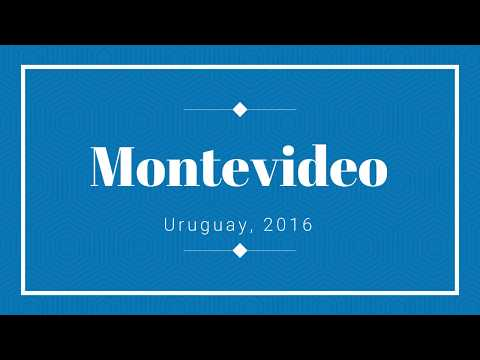 Montevideo | Uruguay | Parte 2 - Parlamento, Plaza Independencia, Plaza Constituición e Ramblas