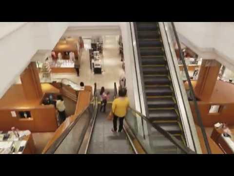 Schindler Escalators Macy's (Formerly Robinsons-May) Chandler Fashion Center Mall Phoenix, AZ