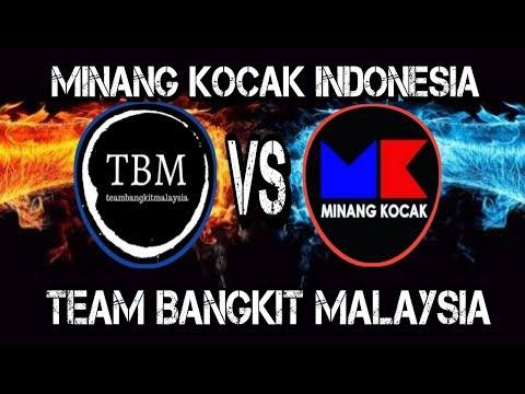 Minang Kocak Indonesia Vs Team Bangkit Malaysia Dubbing Youtube