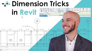 Dimension Tricks in Revit