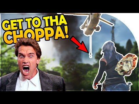 """SOS GAME - """"GET TO THA CHOPPA!"""" - SURVIVAL GAME GAMESHOW?! - SOS The Ultimate Escape Gameplay Part 1"""