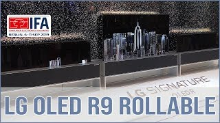 LG OLED TV R9 - aufrollbarer TV vorgestellt