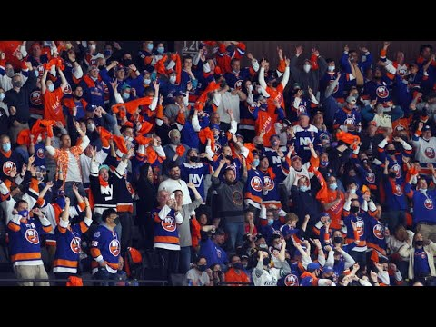 Islanders Fans Sing the National Anthem Before Game 6