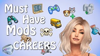 👩‍⚕️💼The Sims 4: MUST HAVE MODS // OVER 25 NEW CAREERS!! 👩‍⚕️💼