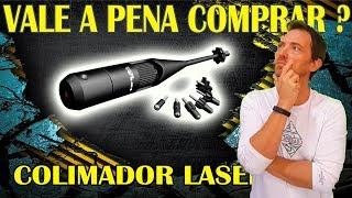 DICA COLIMADOR PARA AJUSTAR MIRA DE LUNETA REDDOT LASER PARA QUALQUER ARMA - VALE A PENA COMPRAR?