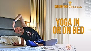 10 minute yoga for in bed