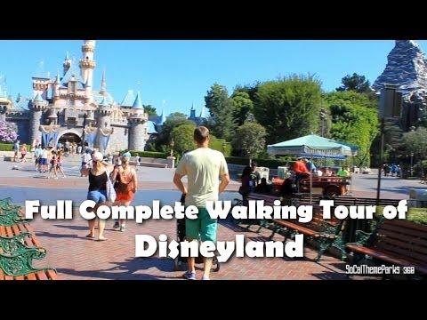 [HD] COMPLETE 1 HOUR SMOOTH Tour of Disneyland - Disney 24-Hour