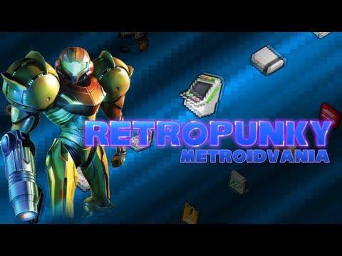 RETROPUNKY - Metroidvania (Emission RetroGaming)