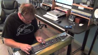 """Blues"" & ""Rock"" Steel Guitar by Zane King"