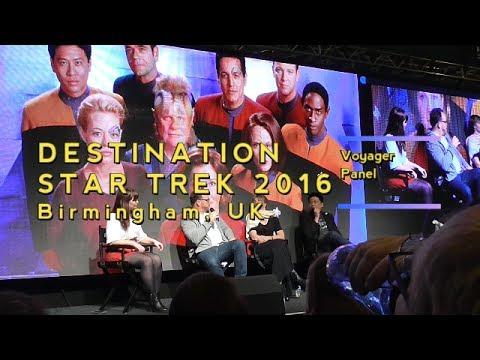 Destination Star Trek 2016  Voyager Panel