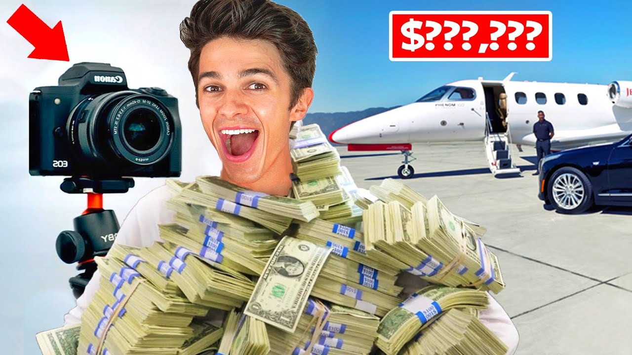 BRENT RIVERA'S MOST EXPENSIVE YOUTUBE VIDEO! (shocking)