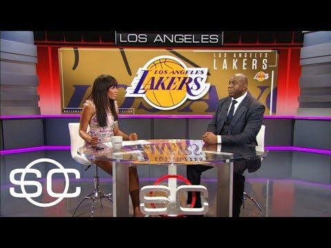 Magic Johnson reflects on Kobe Bryant