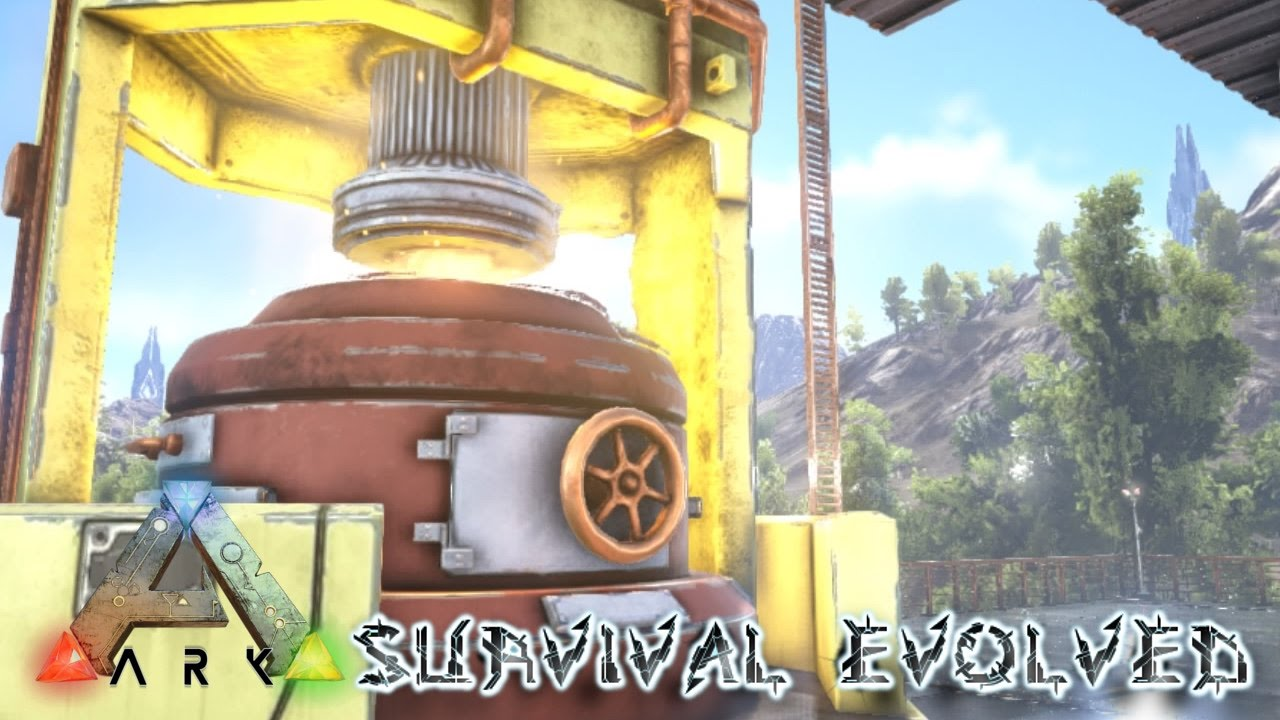 ark survival evolved ps4 industrial forge s2e41 youtube. Black Bedroom Furniture Sets. Home Design Ideas