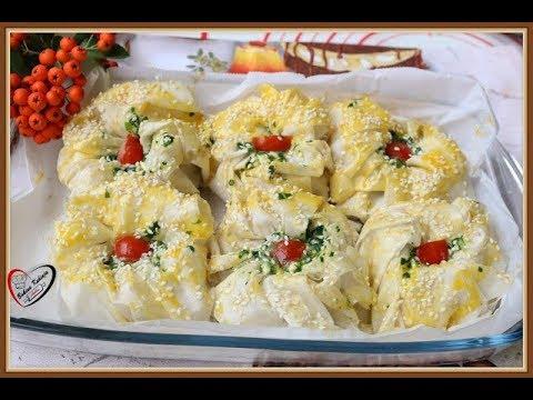 Bakina kuhinja -cvetna pita sa blitvom i sirom